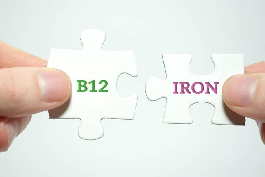B12 & iron