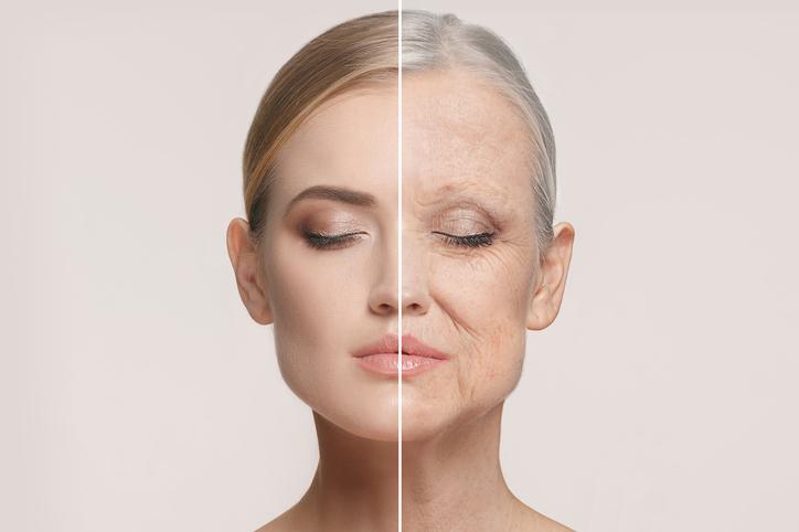 הזדקנות של העור, לפני ואחרי