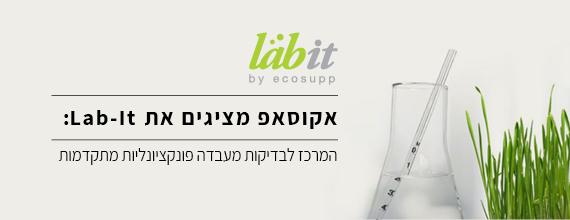 Lab-It בדיקות מעבדה פונקציונליות מתקדמות